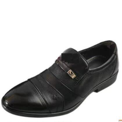特卖专柜正品2013新春款红蜻蜓男鞋男单鞋6091正装商务工作鞋皮鞋商品大图