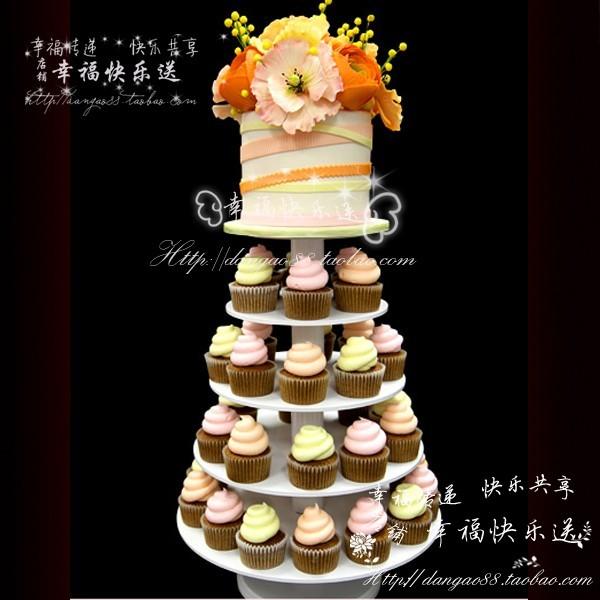 北京翻糖杯子蛋糕cupcake 甜点塔 婚礼 庆典蛋糕甜品桌小甜点