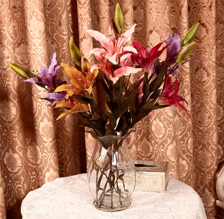 Цветочная ваза Валенсия классическом стиле европейских хрустальных ваз ясно стеклянная ваза стакан воды