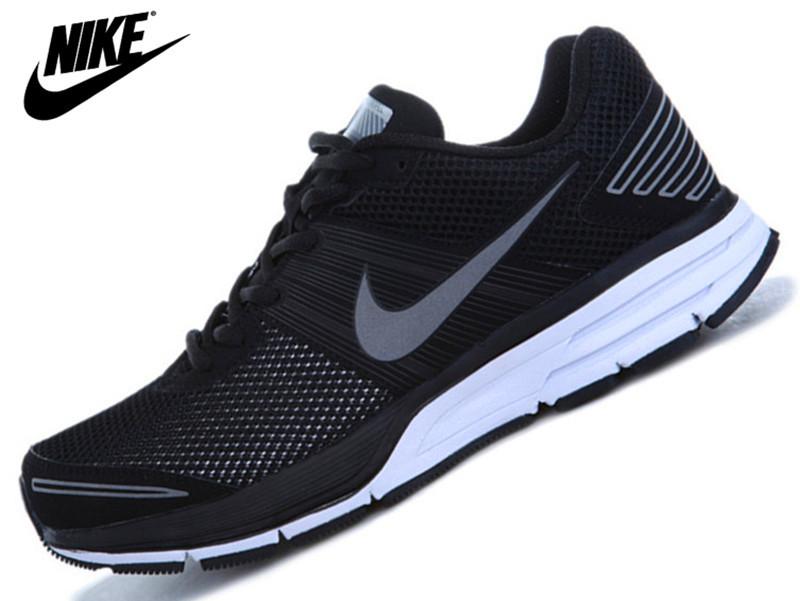 耐克跑鞋_耐克跑步鞋 2013新款男子运动鞋 男士跑鞋吸汗透气网面鞋子 特价