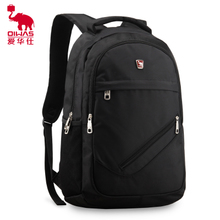 Business men and women shoulder bag Ai Shi 15.6 inch computer bag travel bag backpack schoolbag male Korean version of the influx Students