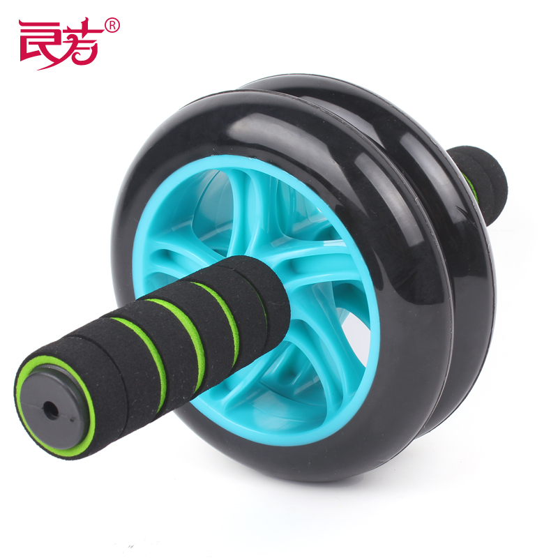Power roller sports muted thin waist two-wheeled sports fitness equipment AB slide-pack home email