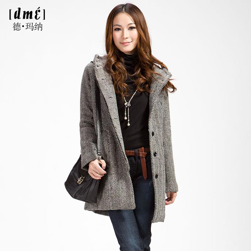 женское пальто Dme 109409904 Dme