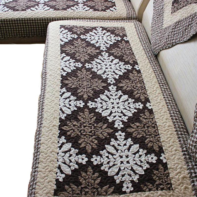 沙发垫布艺坐垫防滑【夏威夷】组合垫沙发巾特价飘窗垫全棉加厚垫
