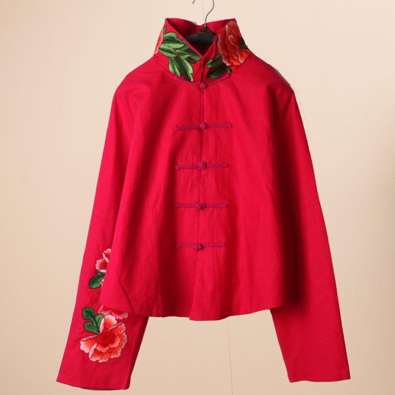 Блузка в китайском национальном стиле Motome Museum 2014