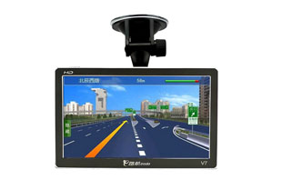 Портативный GPS-навигатор China aerospace and e road  V7 GPS