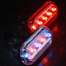 Cool running SIBE. SAIL ultra bright led 5 warning light bike bicycle lights Dead fly taillight waterproof