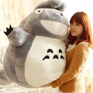 母亲节可爱宫崎骏毛绒玩具是的公仔布娃娃可爱龙猫玩偶日女生礼物店灿情趣白我开图片