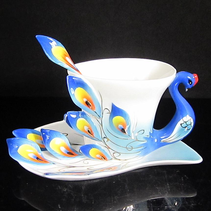 Чаша для молока Tianyu ceramics Фарфор С ручкой Стиль минимализм