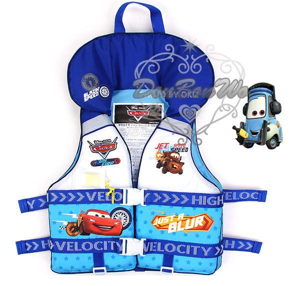 Детский жилет для плавания 迪士尼cars閃電麥坤藍星星安全救生衣