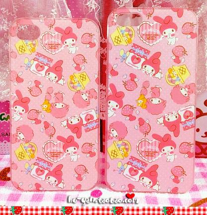 日本sanrio melody 美樂蒂 iphone5/5s手機殼 iphone4/4s塑料硬殼