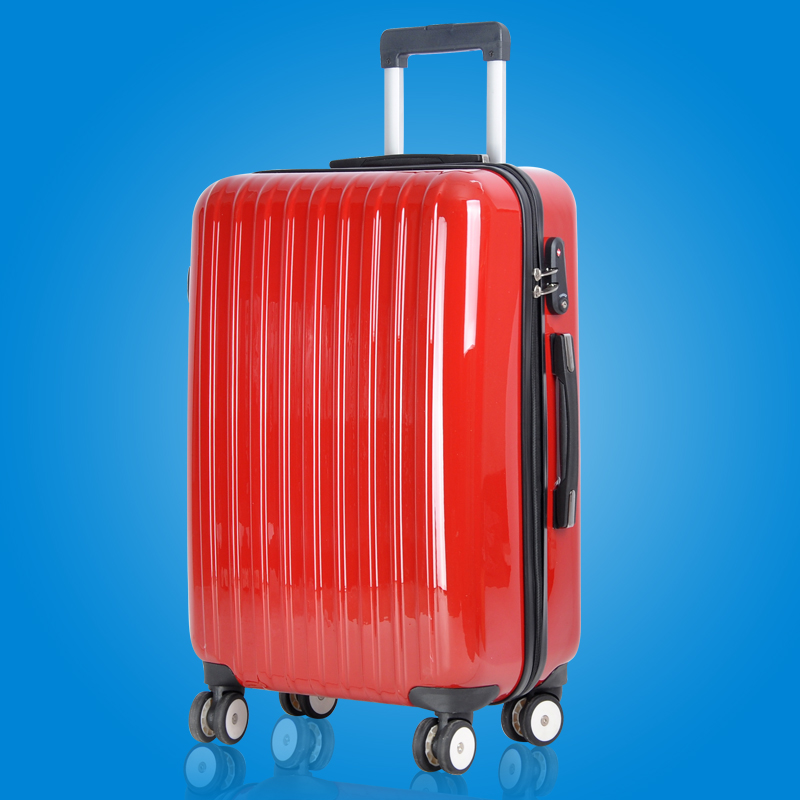Tide 50 percent off bag mail ITO with luggage luggage luggage password abs+pc universal wheel drag box Specials (Pull rod box size:28 inch) (Color classification:01 upgraded version of light red)