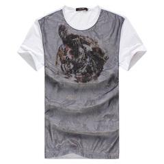 2013夏季新款高端男装短袖T恤 ZD908-Y38K-P175