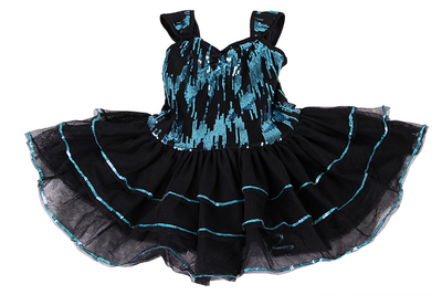 Dan Kai shipping children skirts Latin costumes ballet performance clothing sequins sequined dress tutu
