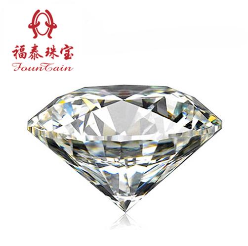 福泰珠宝 D-E钻石GIA天然裸钻定制 正品钻戒结婚戒指克拉女戒婚嫁