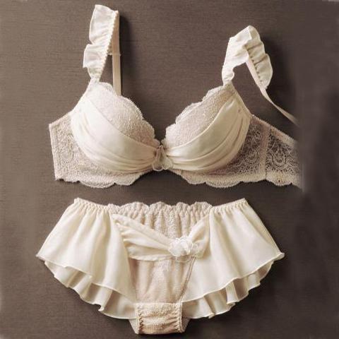 Комплект нижнего белья Japan lingerie 70D70E Придание формы Кружево Японский Шифон