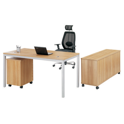 Qiaozhi desk Plate Special minimalist modern fashion boss desk computer desk with a package of activities, deputy cabinet cabinet