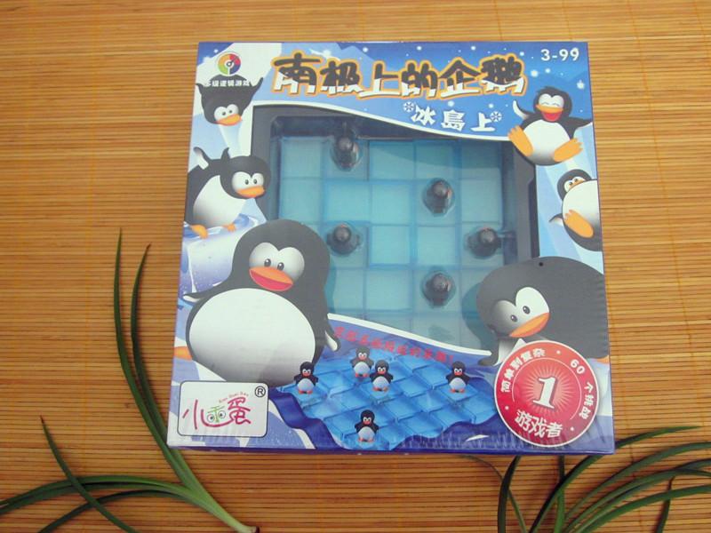 Развивающая игра для детей Аутентичные маленькие милые яйца на детский день рождения Пингвин Арктики лабиринт головоломки игрушка zm0901