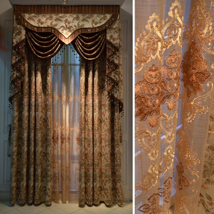 给成都市橄榄树家居布艺有限公司的美式窗帘留