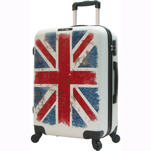 Hong Kong MIHK new retro British Union Jack luggage board chassis White Tie British style flag
