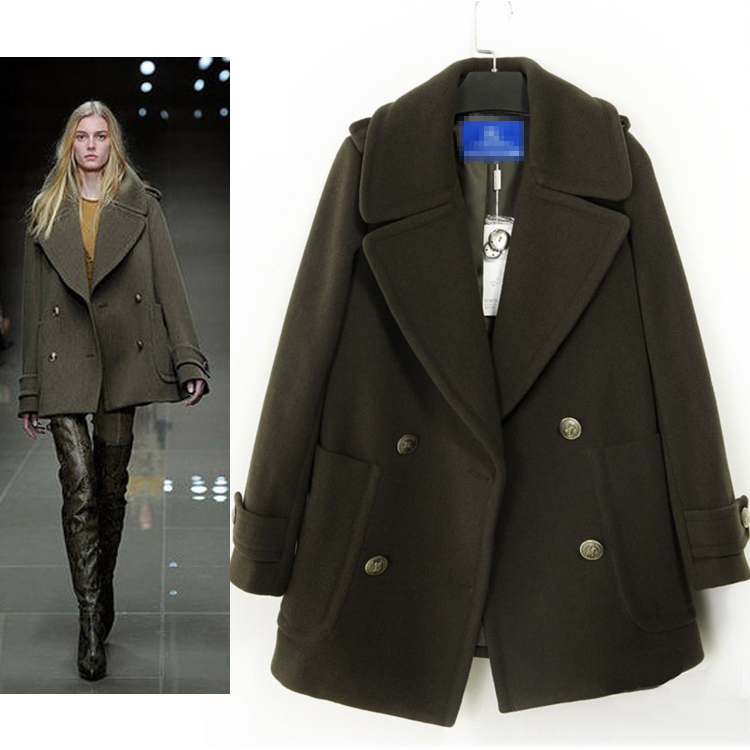 женское пальто 2013 Зимняя мягкий Шерстяной жакет новый стиль женщин пальто XL Chao han сукна куртки пальто