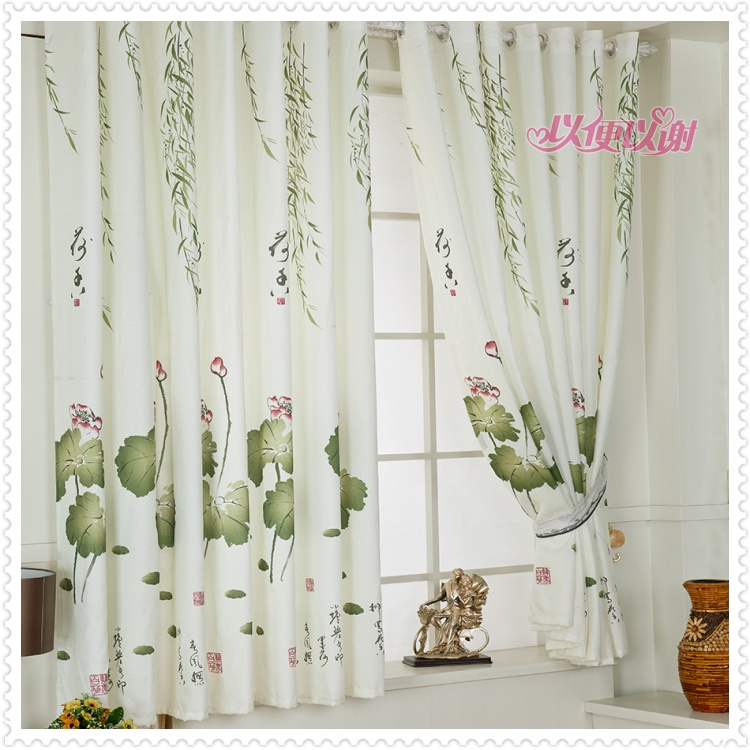 Ebenezer short curtain curtain fabric / products / cloth curtains the living room balcony bedroom window curtain
