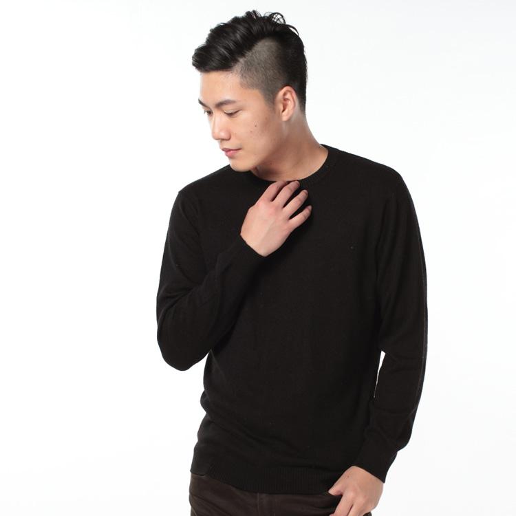Трикотаж 2013新款女式秋冬针织男士羊绒衫 男士常规款低圆领羊绒羊毛衫