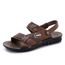 2013 summer leather sandals for man
