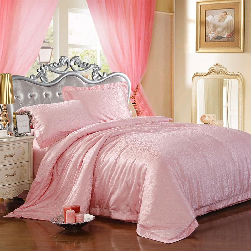 冬款保暖床上用品 柔丝绵纯棉贡缎提花家纺四件套 特价 全场包邮