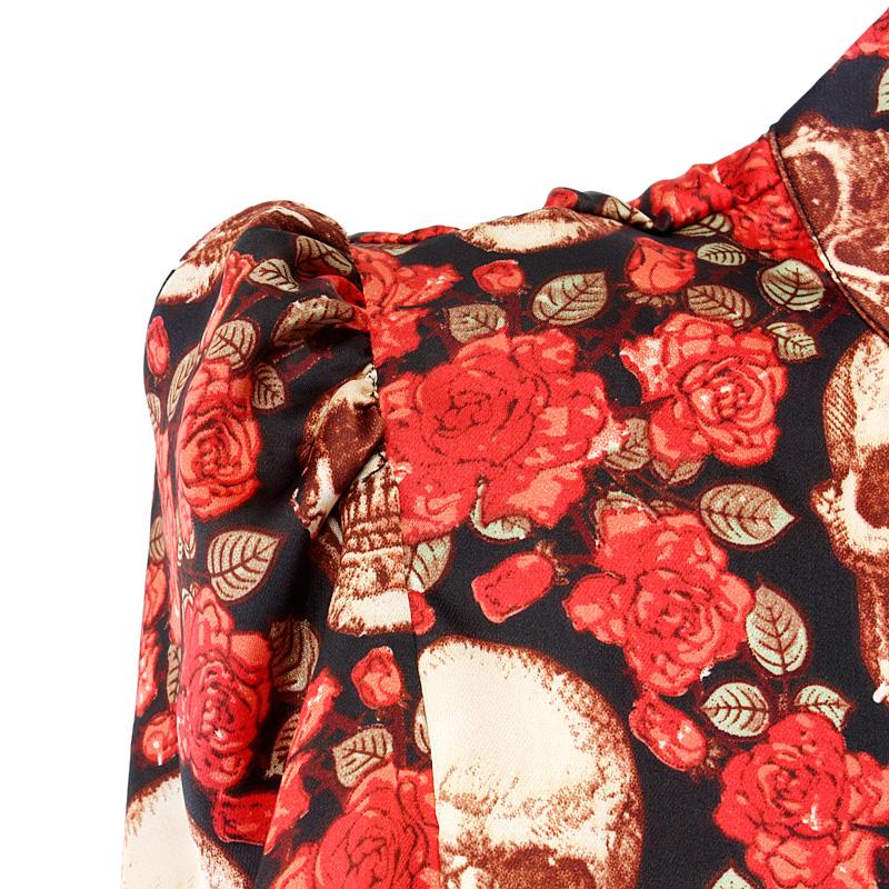 женская рубашка 0917z88ch Channel-z 2012 Городской стиль Длинный рукав Разный дизайн Осень 2012 Набивка и крашение Воротник-стойка Один ряд пуговиц