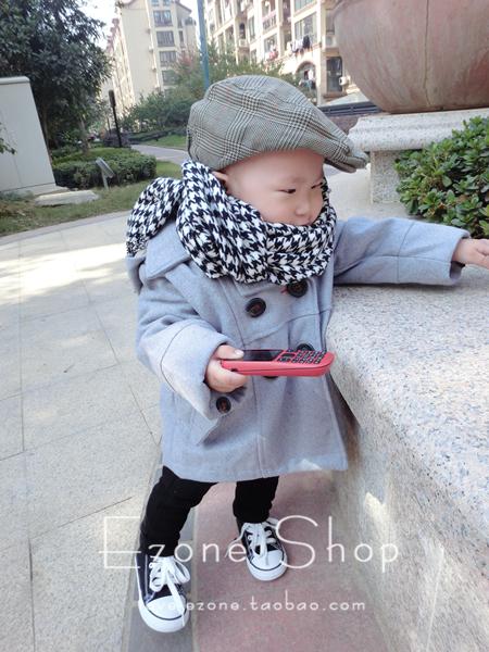 Пальто детское [EZONE] Унисекс