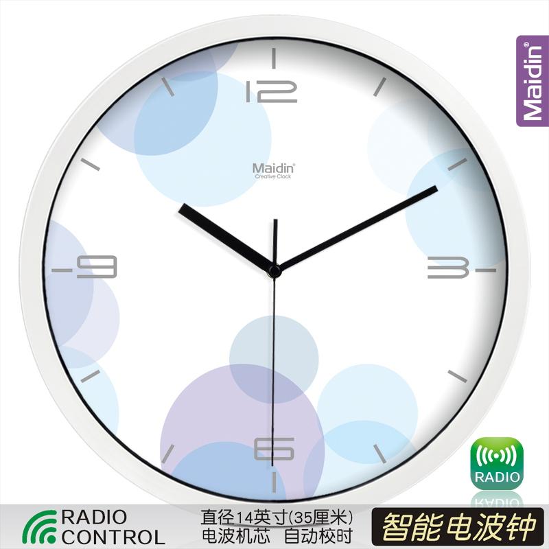 Цвет: Радиоуправляемые часы 14-дюймовый белый-050