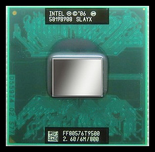 Процессор Intel  T9500 CPU 2.6G 6M 800 BGA 965