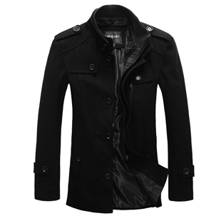 2013 spring new men s wool trench coat long slim coats for men men's Barret in the Korean men's jackets
