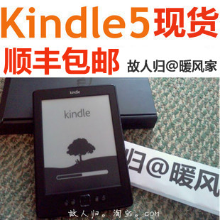 Электронная книга Amazon  Kindle5 Wifi K4 K5