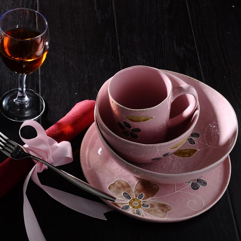 Набор фарфоровой посуды Siv. heike Siv Фарфор Китайский стиль Ручное окрашивание