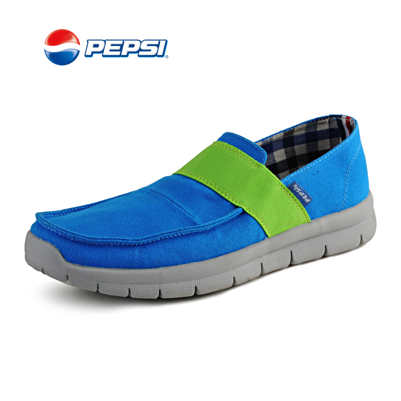 Pepsi summer 2013 Joker ultra soft canvas casual shoes for men and women Korean trend lazy shoes sports shoes