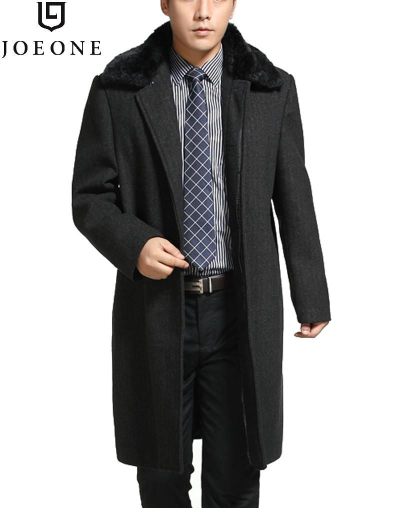 Пальто мужское Joeone 1300029