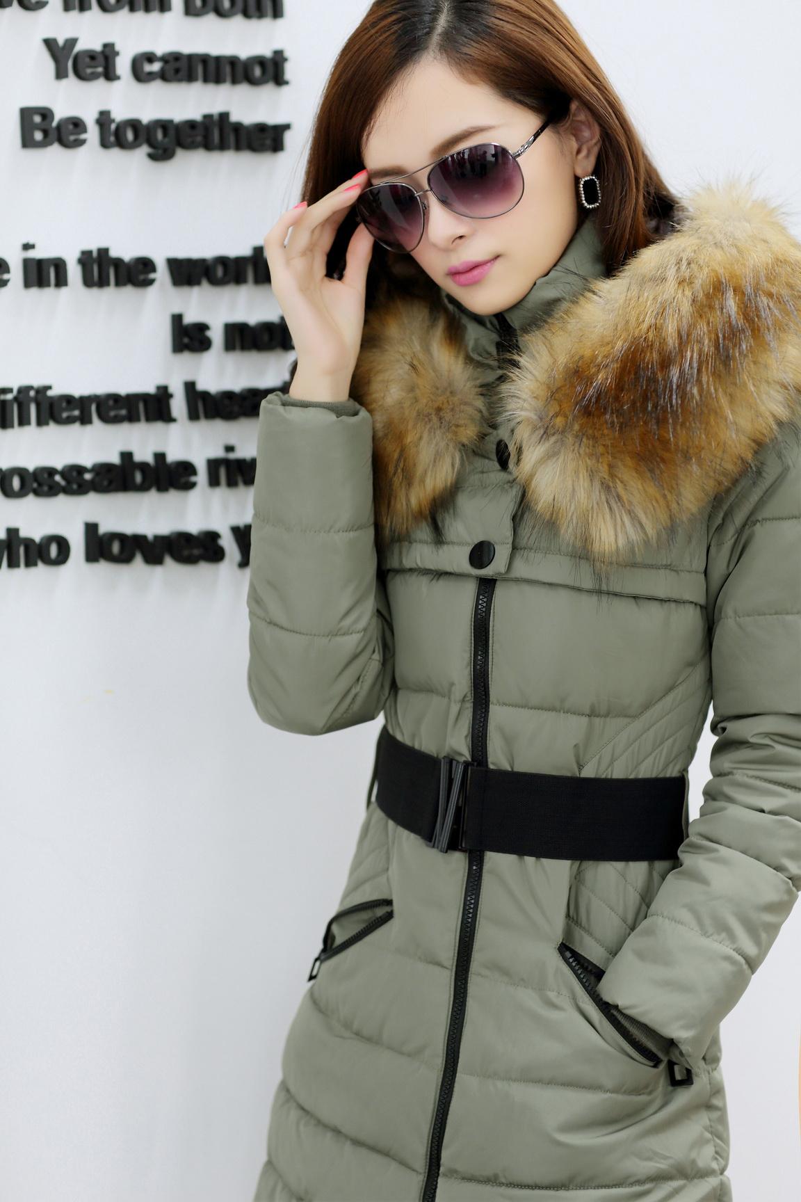 Женская утепленная куртка 9603 2013