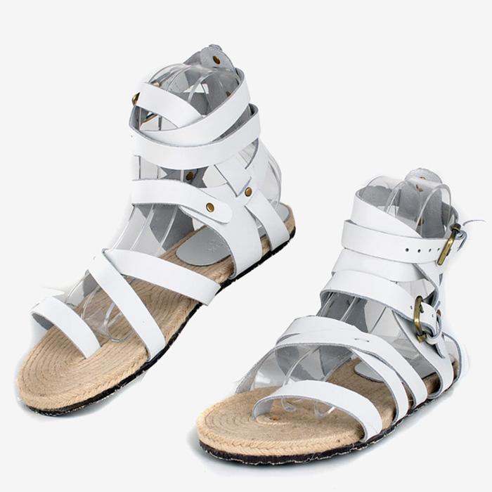 Сандали 2013 новые моды Корейский кожаные сандалии мужчин пряжкой горячие римском стиле Босоножки Босоножки 399