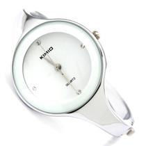 Подлинные корейской моды KIMIO кварцевые часы Часы горный хрусталь