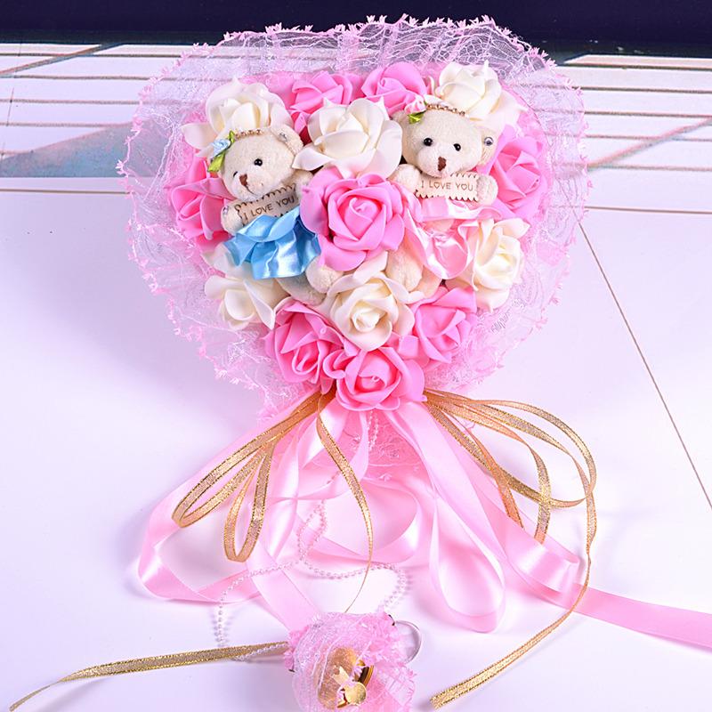 创意婚庆用品挂饰结婚礼物实用婚房布置装饰用品结婚纪念日送老婆