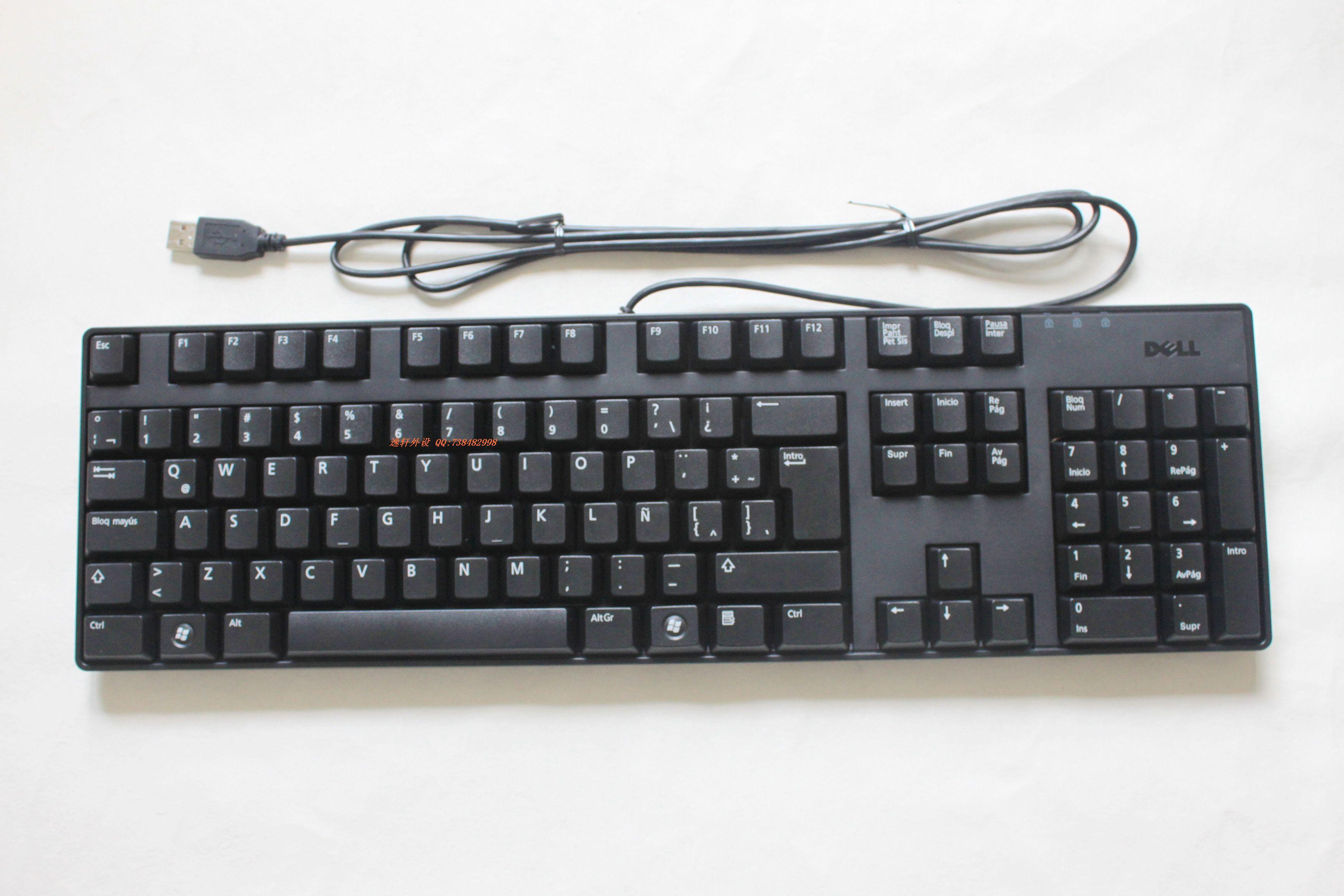 静音之王 全新盒装 原装戴尔DELL SK-8175 有线键盘 旭丽代工