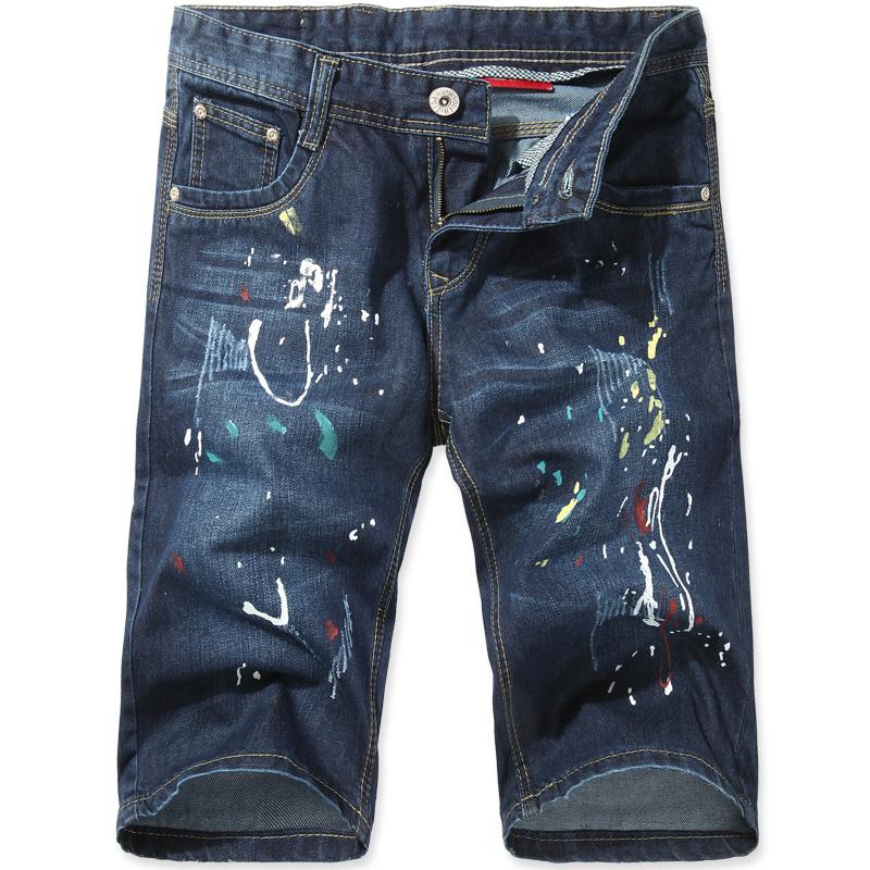 Джинсы мужские EASE JOYS 403/7747 Классическая джинсовая ткань 2013