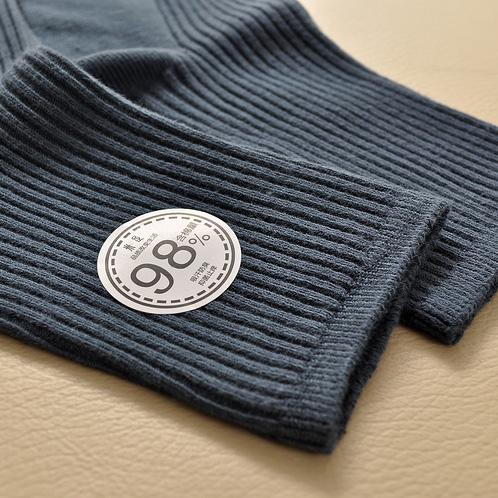 M full 98% cotton content cotton men's socks in tube socks genuine male cotton socks four seasons