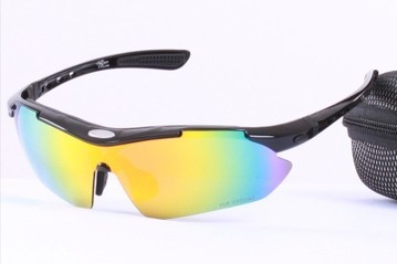 Taiwan brand authentic outdoor sports special polarized lenses sunglasses glasses drivers riding in bulletproof myopia