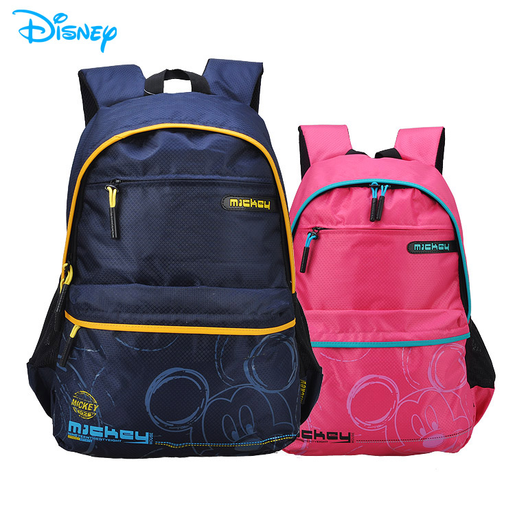 International Children ' s Day gift Disney Mickey schoolbags children offloading ultralight waterproof bag