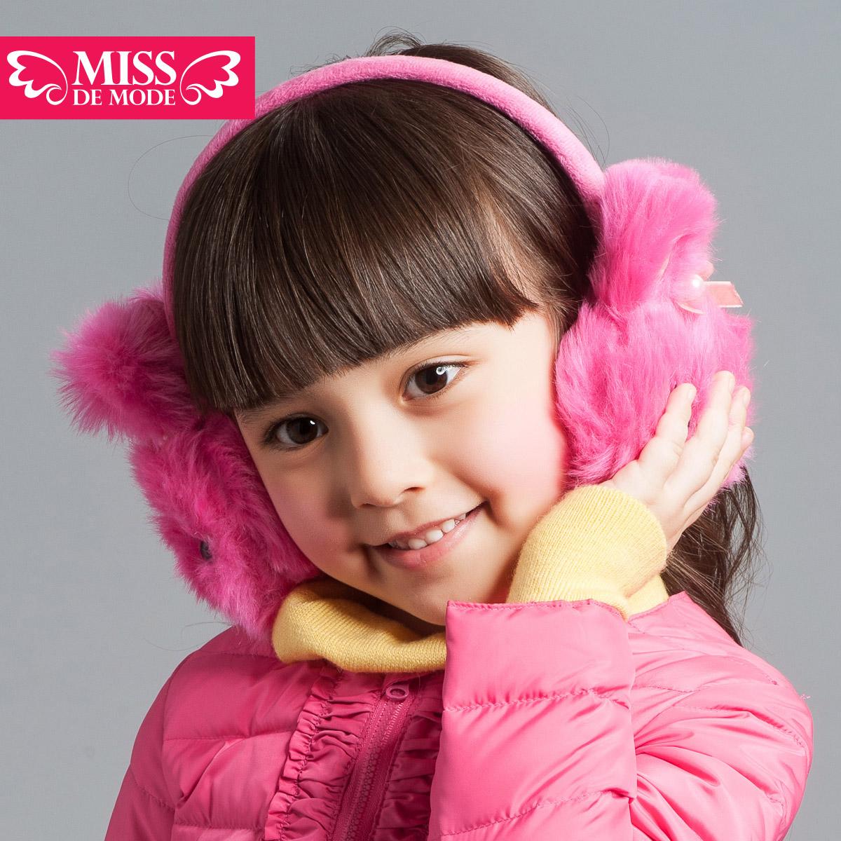 Меховые наушники детские Miss de mode 2012