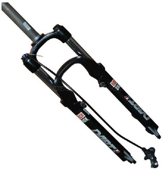 Вилка велосипедная 09 «RockShox dart3 под контролем блокировки передней вилки