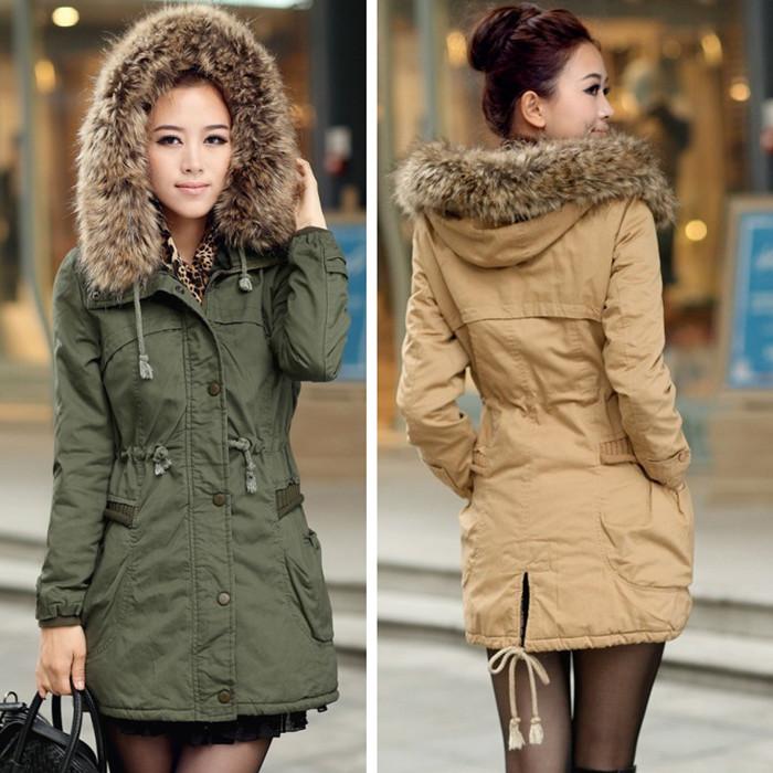 Женская утепленная куртка 35